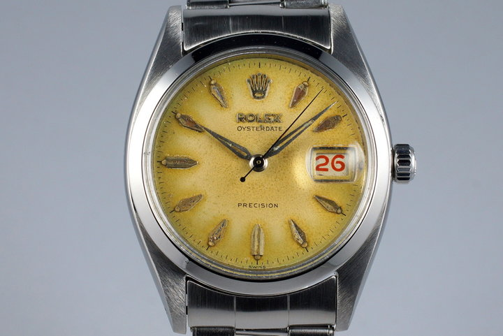 1957 Rolex OysterDate 6494 with Tropical Dial photo