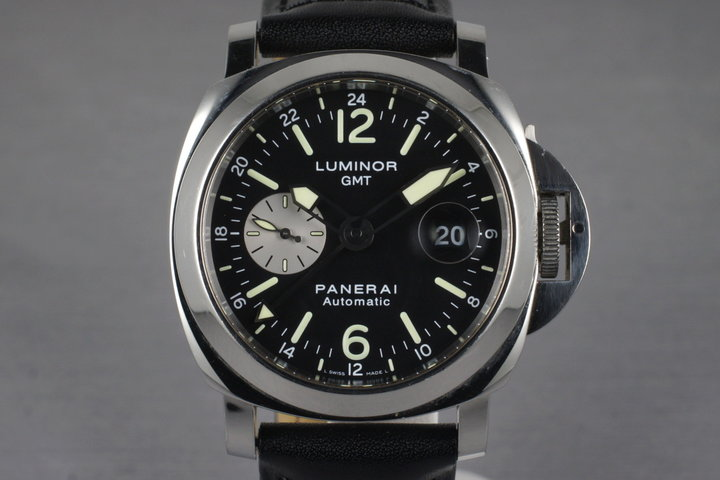 2006 Panerai PAM 88 GMT with Box and Papers photo
