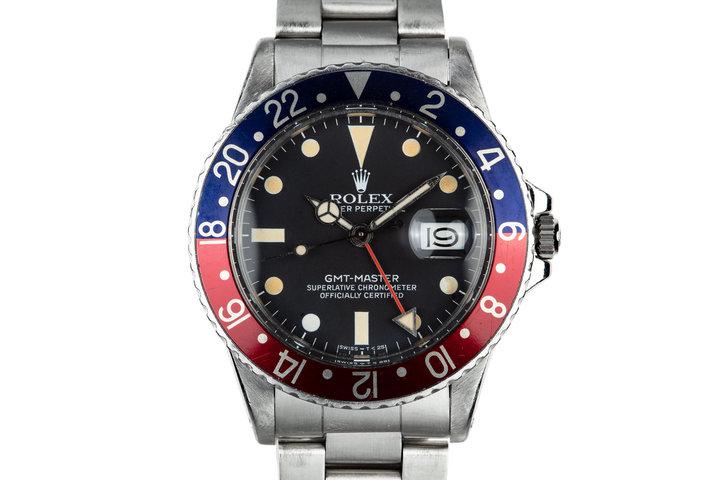"""1981 Rolex GMT-Master 16750 """"Pepsi"""" photo"""