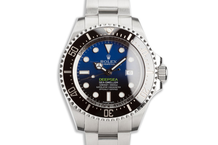 2017 Rolex DeepSea Sea-Dweller 116660 with Box & Card photo
