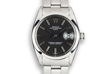 1968 Rolex Date 1500 Black Dial photo