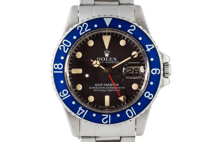 1978 Rolex GMT 1675 Blueberry photo