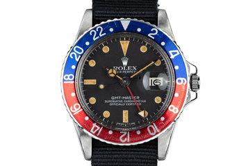 """1979 Rolex GMT-Master 1675 """"Pepsi"""" photo"""