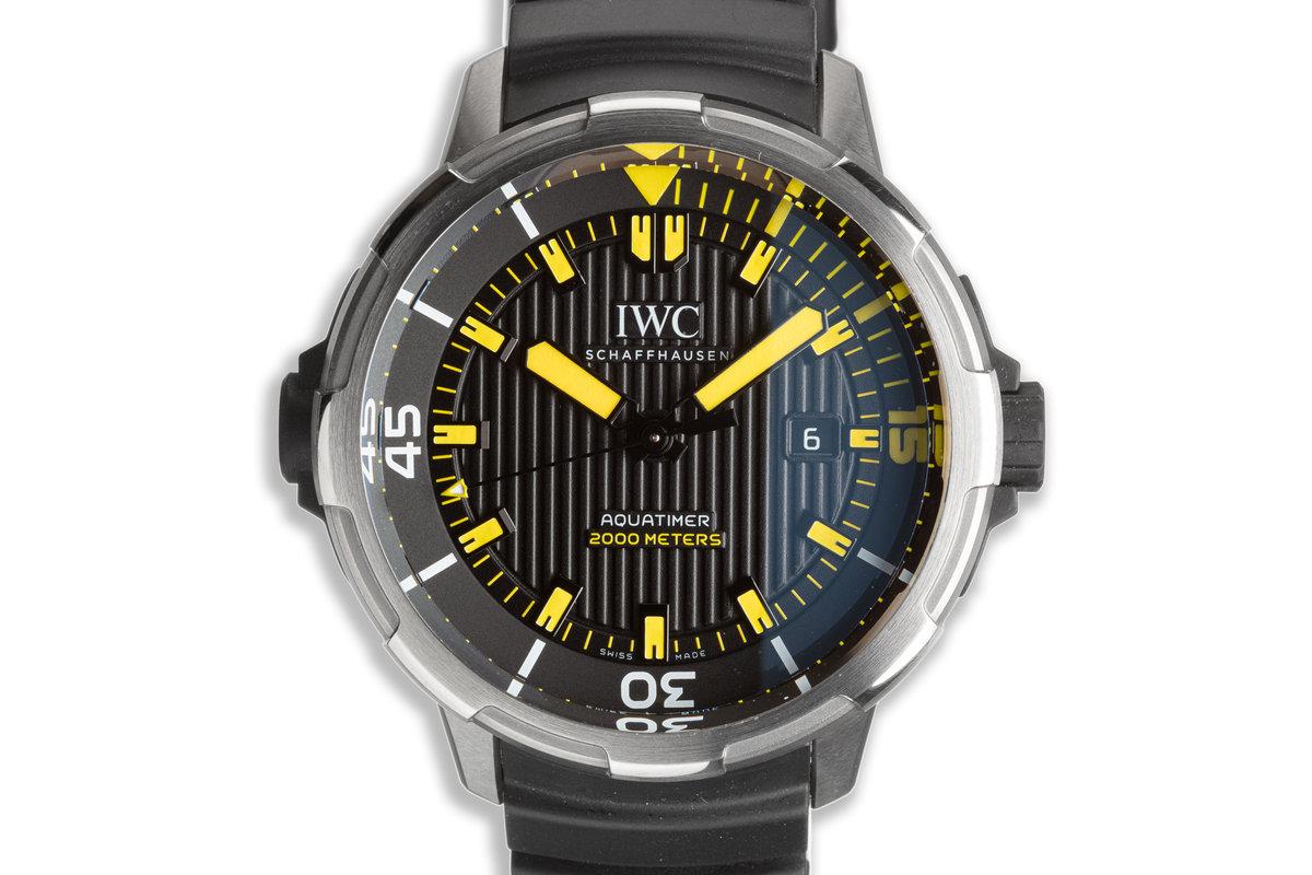 2017 IWC Aquatimer IW358001 with Box & Card photo, #0