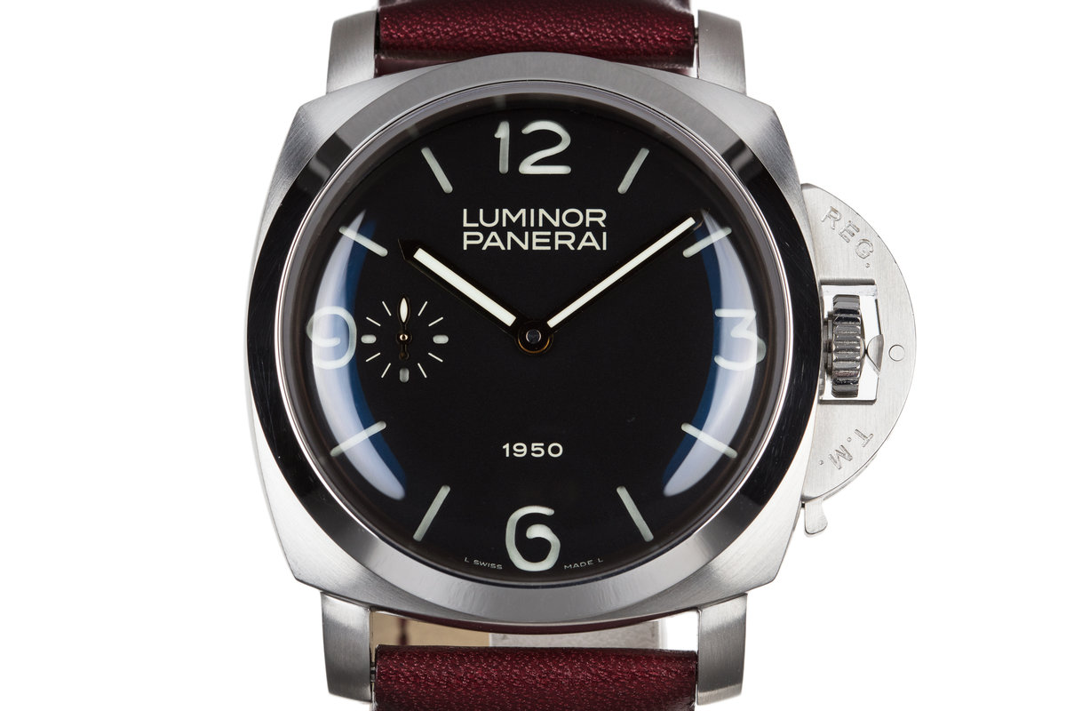 Panerai Luminor 1950 PAM00127 with Box and Papers photo, #0
