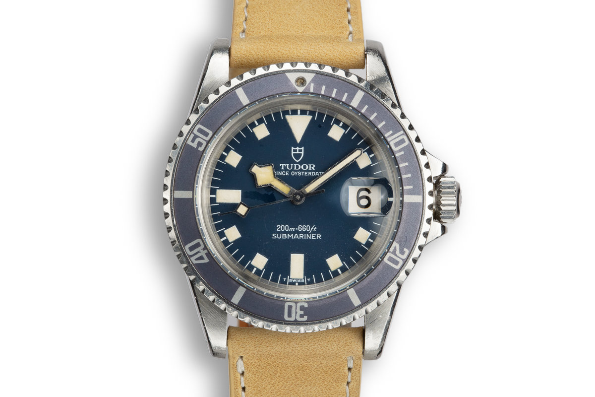 1976 Tudor Snowflake Submariner 9411/0 Blue Dial photo, #0
