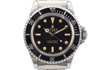 1965 Rolex Submariner 5513 Glossy Gilt Dial photo