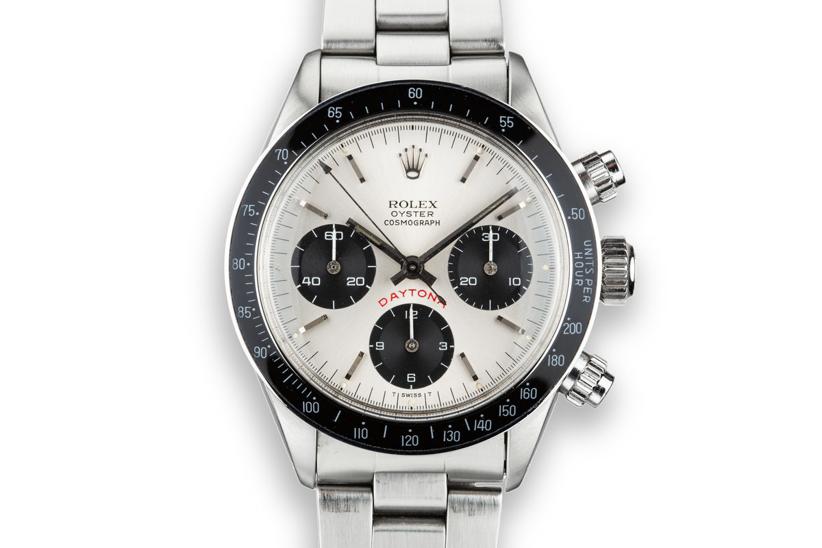 "1977 Rolex Daytona 6263 ""Big Red"" Silver Dial photo, #0"