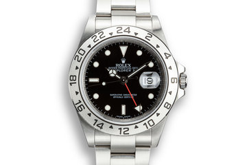 2006 Rolex Explorer II 16570 Black Dial with Box and Papers with 3186 Movement photo