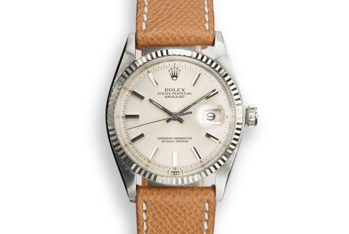 1969 Rolex DateJust 1601 Silver Dial photo, #0