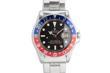 1968 Vintage Rolex GMT-Master 1675 photo