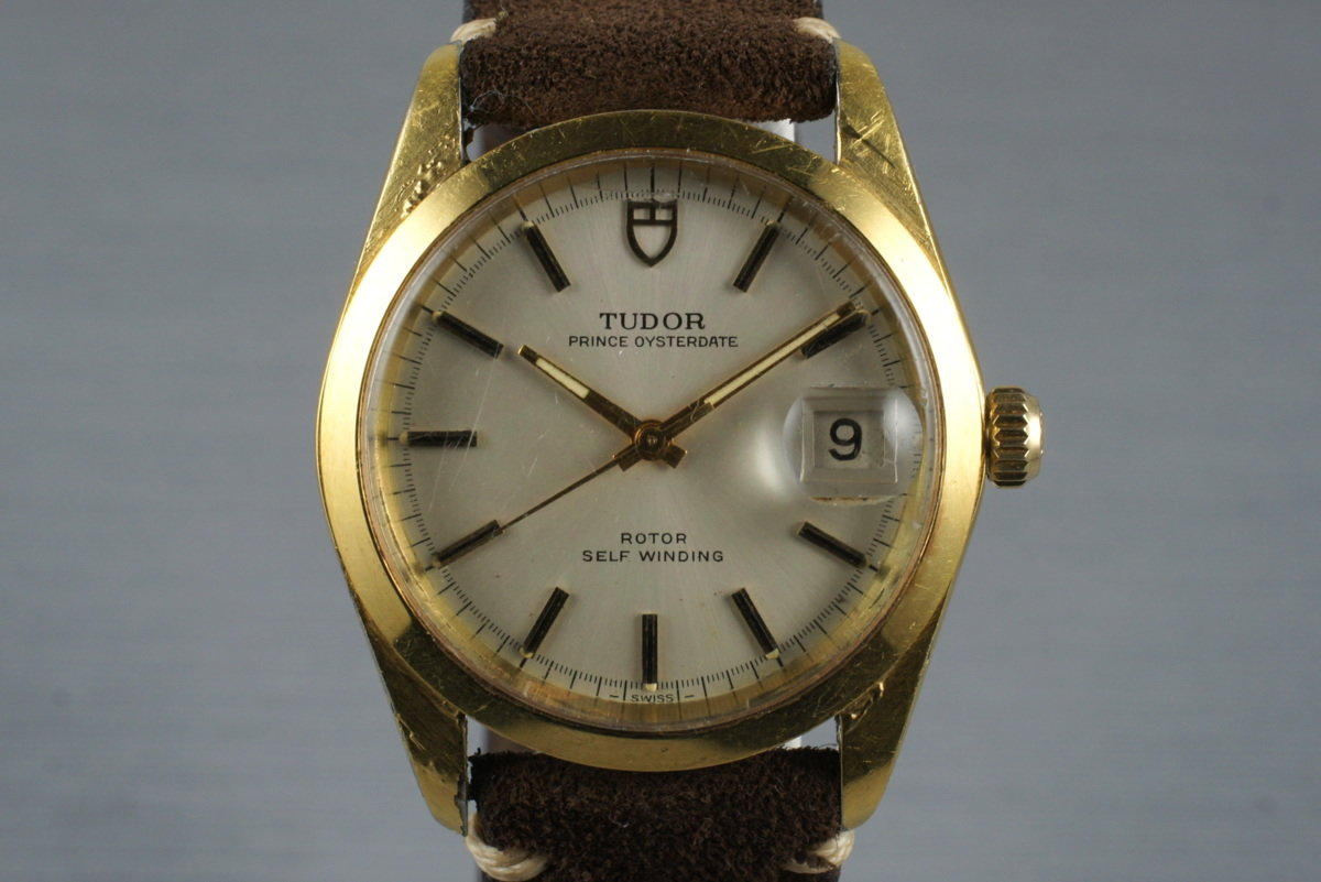 1968 Tudor Gold Shell Prince Oysterdate 9050/1 photo, #0