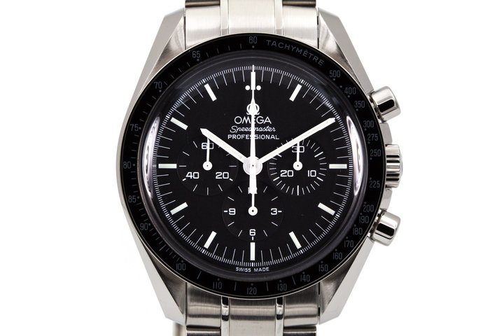 2012 Omega Speedmaster Professional 3570.50 with Box and Papers photo