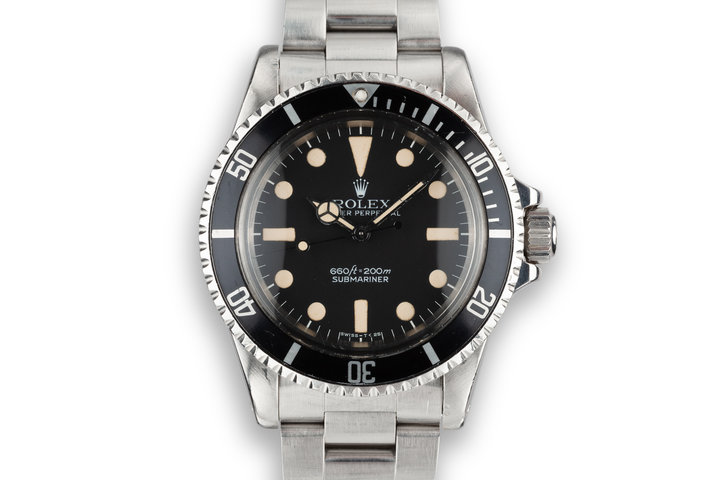 1978 Rolex Submariner 5513 with MK I Maxi Dial photo