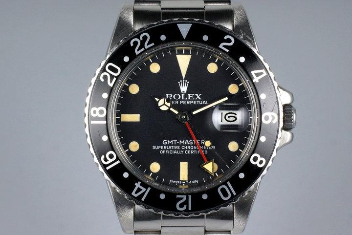 1983 Rolex GMT 16750 Matte Dial photo