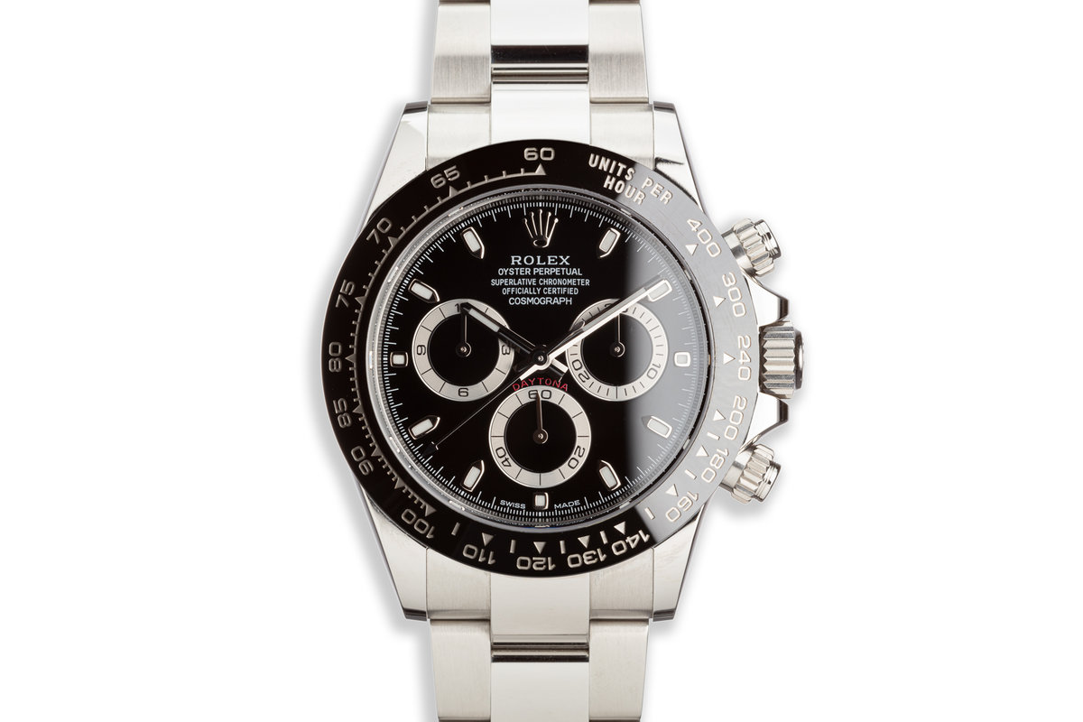 2018 Rolex Daytona 116500LN Black Dial with Box and Card photo, #0