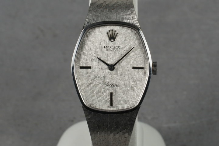 1970 Rolex Ladies White Gold Cellini with papers photo