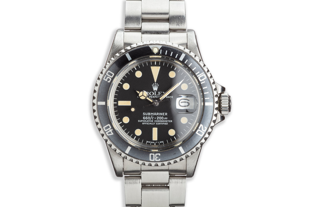 1975 Vintage Rolex Submariner 1680 photo, #0