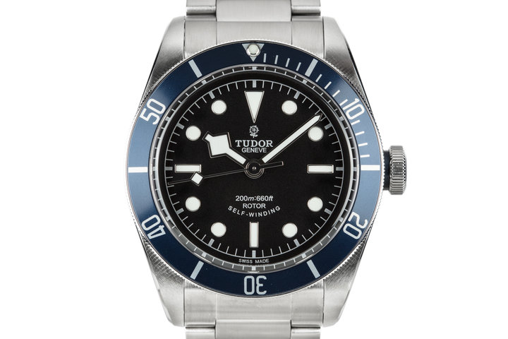 2017 Tudor Black Bay 79220B with Blue Bezel and Box and Papers photo