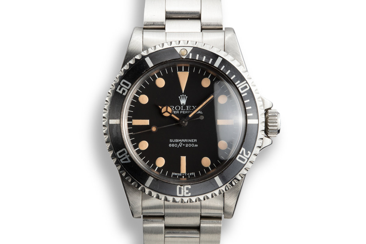 1981 Rolex Submariner 5513 with MK III Maxi Dial photo, #0