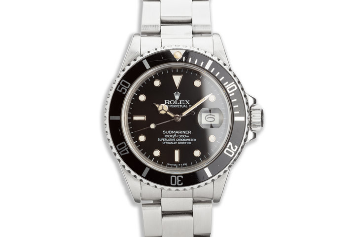 1985 Rolex Submariner 16800 photo