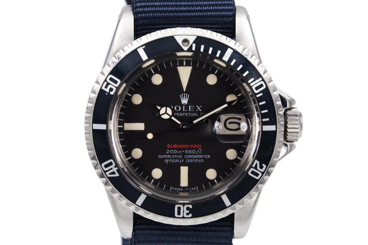 1969 Rolex Red Submariner Mark II Meters First Dial photo, #0