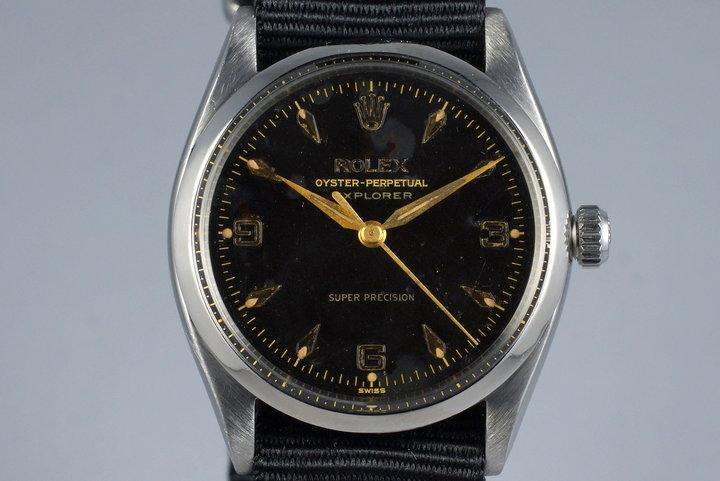 1958 Rolex Explorer 5500 Glossy Gilt Dial photo