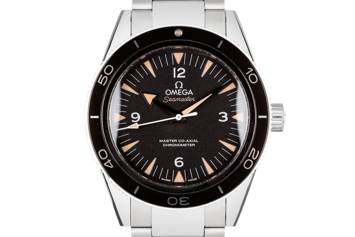 2015 Omega Seamaster with Box and Papers photo, #0