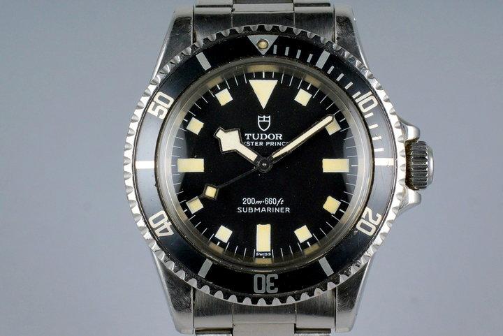 1972 Tudor Submariner 7016/0 Black Snowflake Dial photo