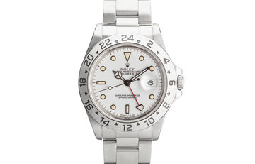 "1991 Rolex Explorer II 16570 ""Polar"" White Dial photo"