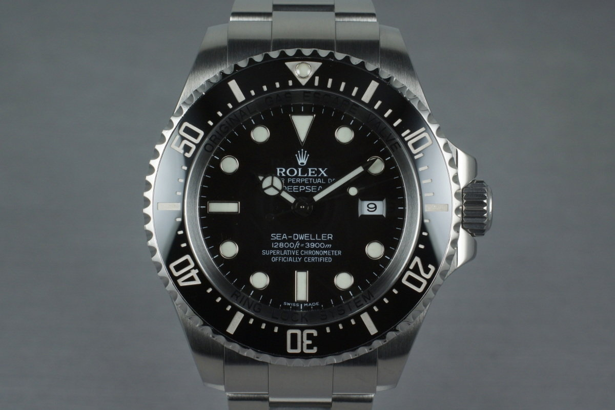 2009 Rolex Deep Sea Dweller 116660 with Box and Papers photo, #0