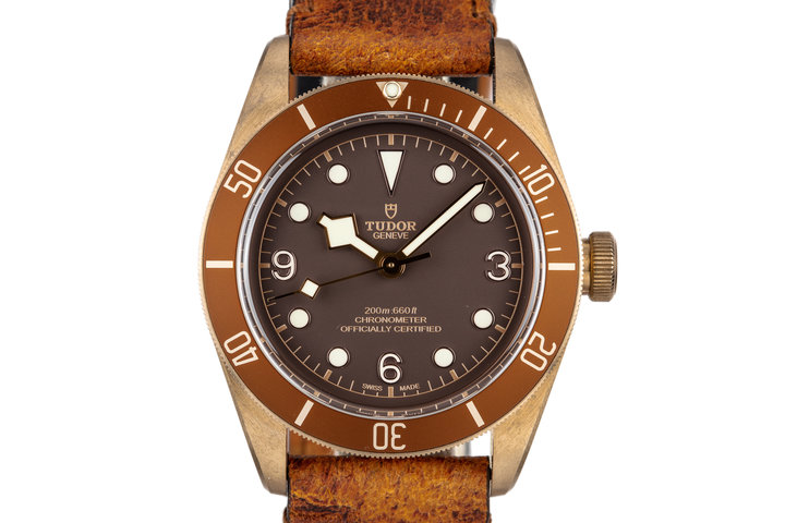 2017 Tudor Bronze Heritage Black Bay 79250BM with Box and Papers photo
