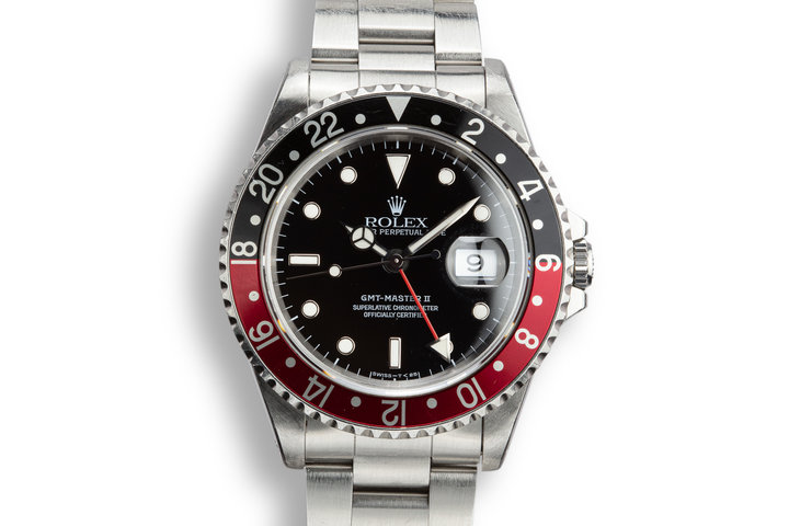 "1995 Rolex GMT-Master II 16710 ""Coke"" with Box and Papers photo"