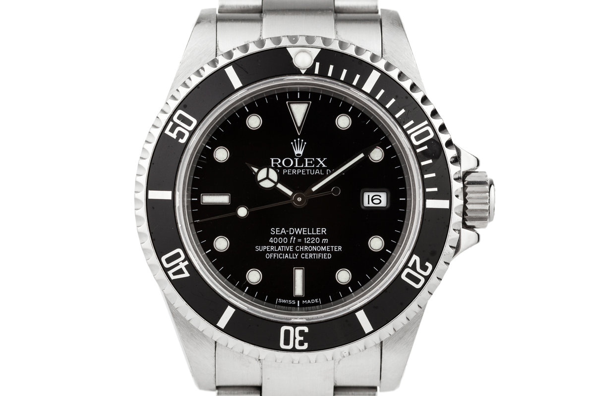 1999 Rolex Sea Dweller 16600 photo, #0