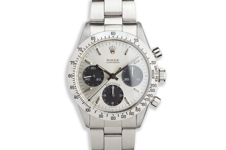 1971 Rolex Daytona 6262 Silver Dial with Box and Guarantee photo
