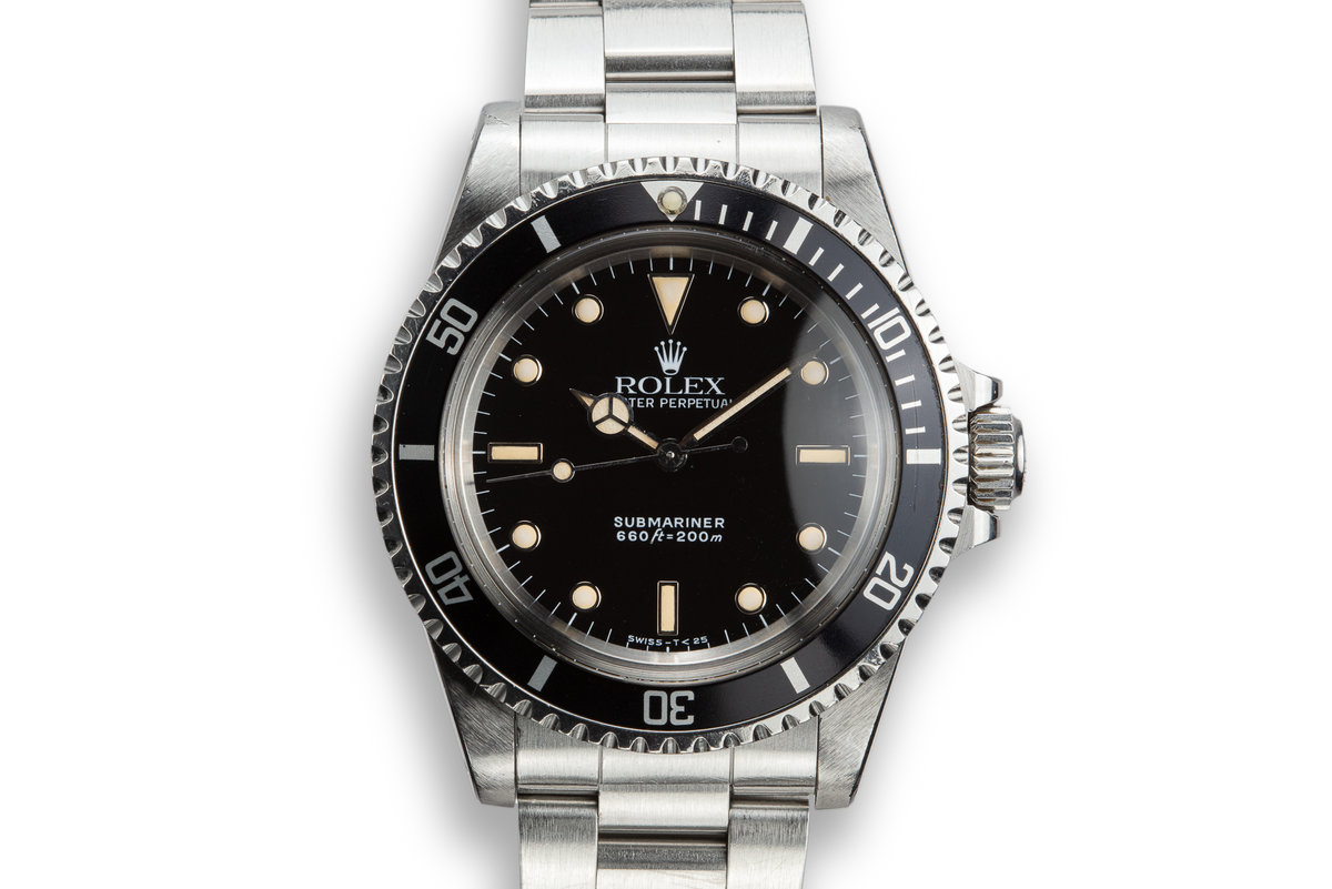 1989 Rolex Submariner 5513 Glossy Dial photo, #0