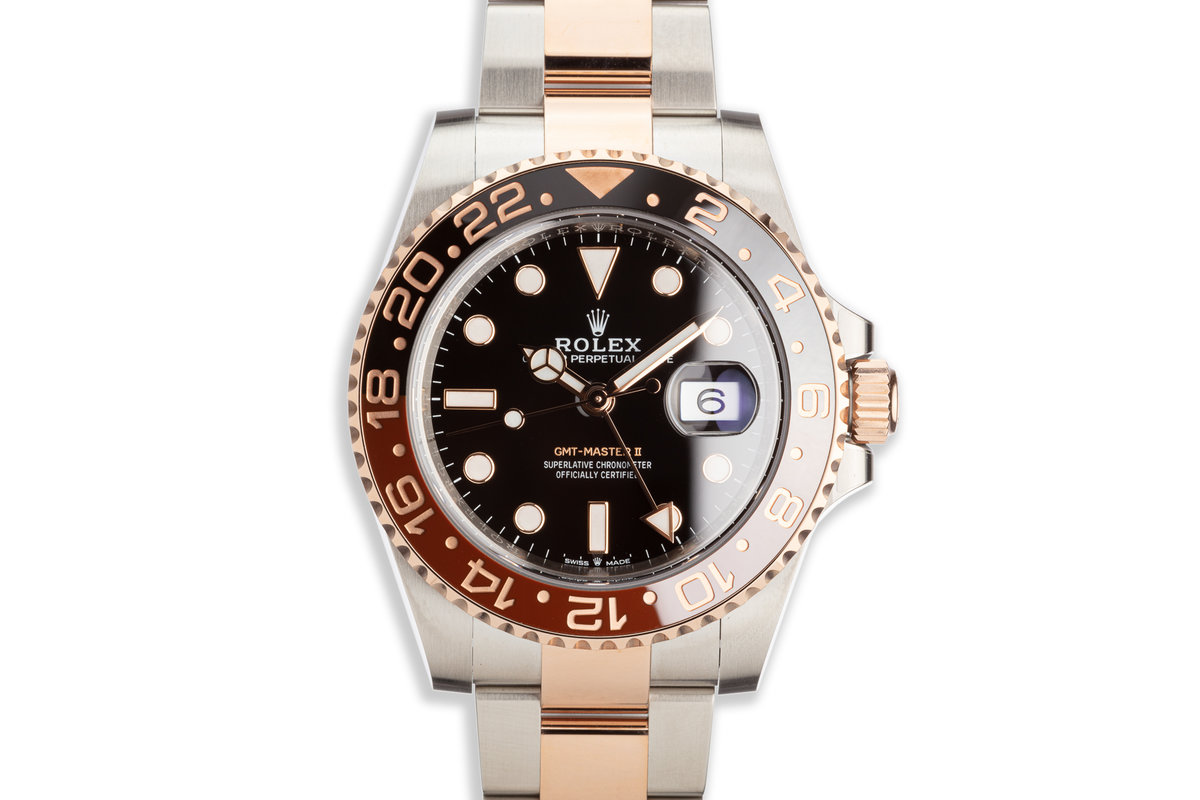 """2018 Rolex Ever Rose GMT-Master II 126711CHNR """"Root Beer"""" with Box and Card photo, #0"""