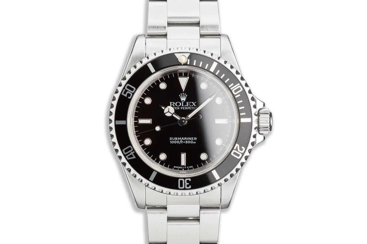 1996 Rolex Submariner 14060 photo, #0