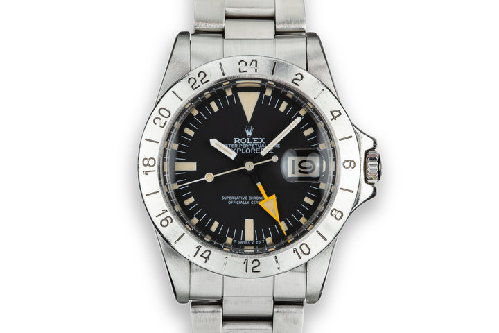 1982 Rolex Explorer II 1655 MK V Dial photo