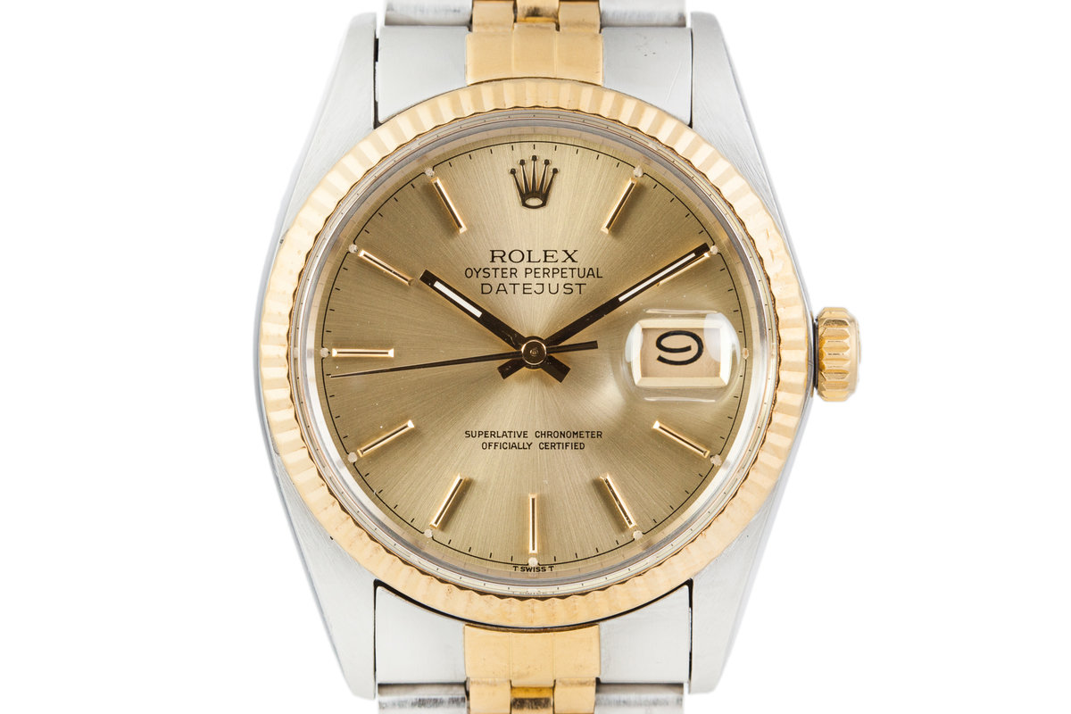 1983 Rolex Two Tone Date-Just 16013 photo, #0