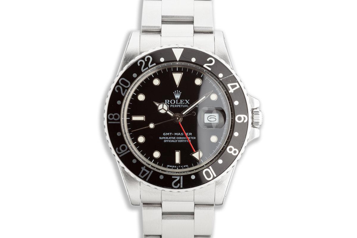 1987 Vintage Rolex GMT-Master 16750 photo, #0