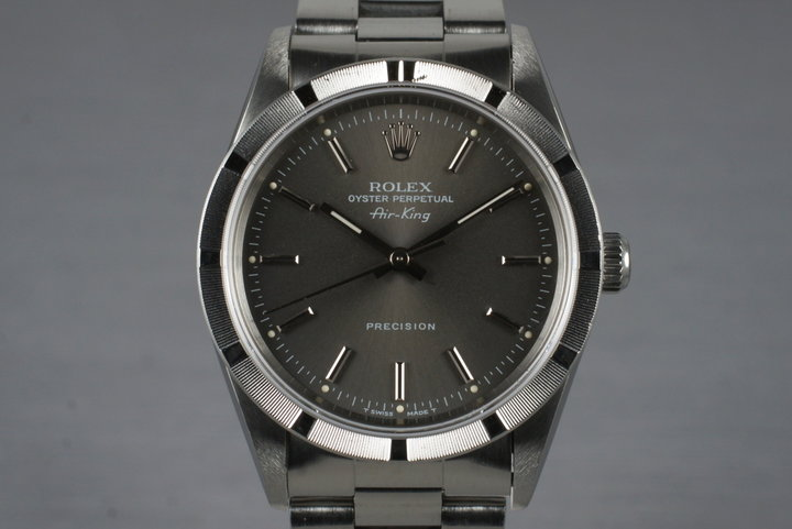1995 Rolex Air-King 14010 Gray Dial photo