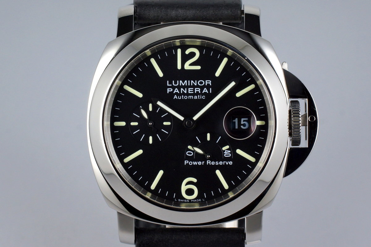 2005 Panerai PAM 90 Power Reserve with Box and Papers photo, #0