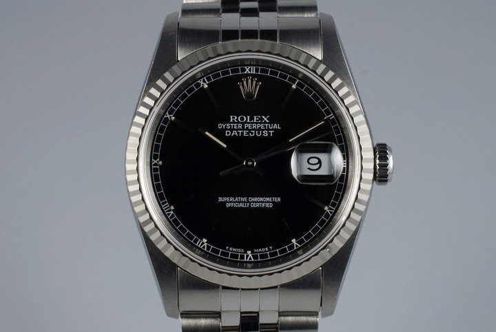 1991 Rolex DateJust 16234 with Japanese Papers photo