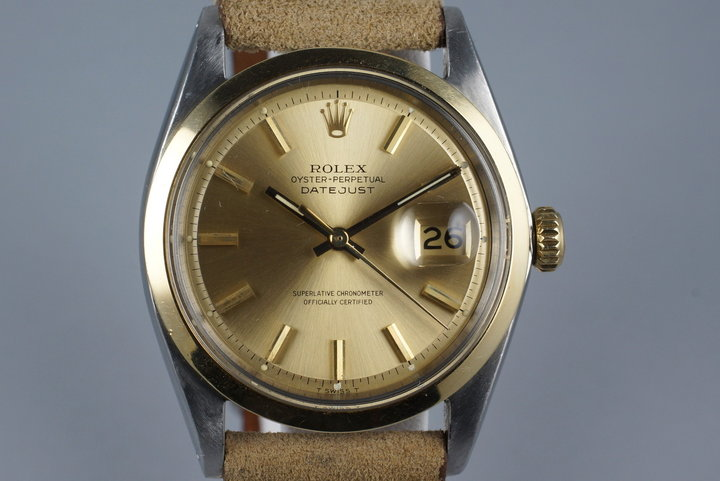 1967 Rolex Two Tone DateJust 1600 photo