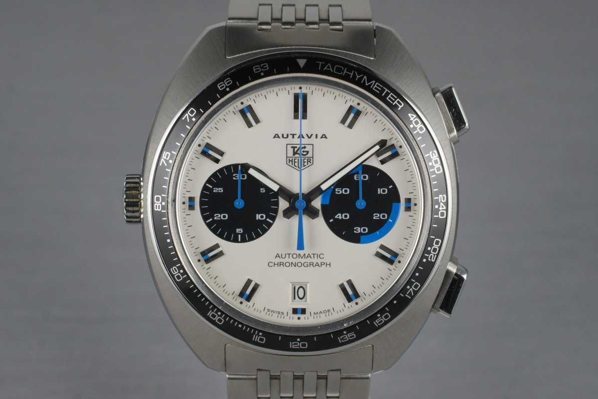 2004 Tag Heuer Autavia CY2110 White Dial with Box and Papers photo, #0