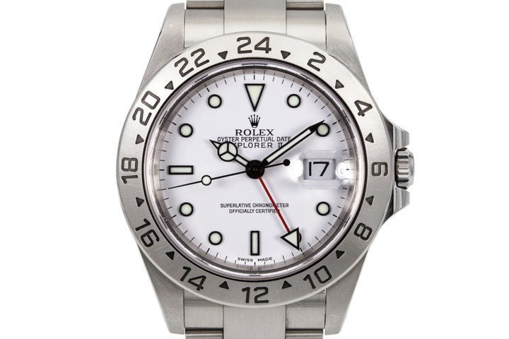 2000 Rolex Explorer II 16570 photo
