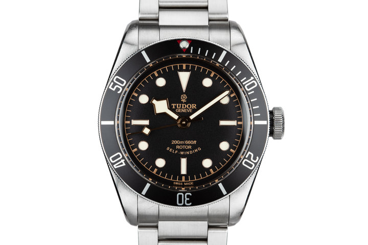 2015 Tudor Black Bay Heritage 7922N with Box and papers photo