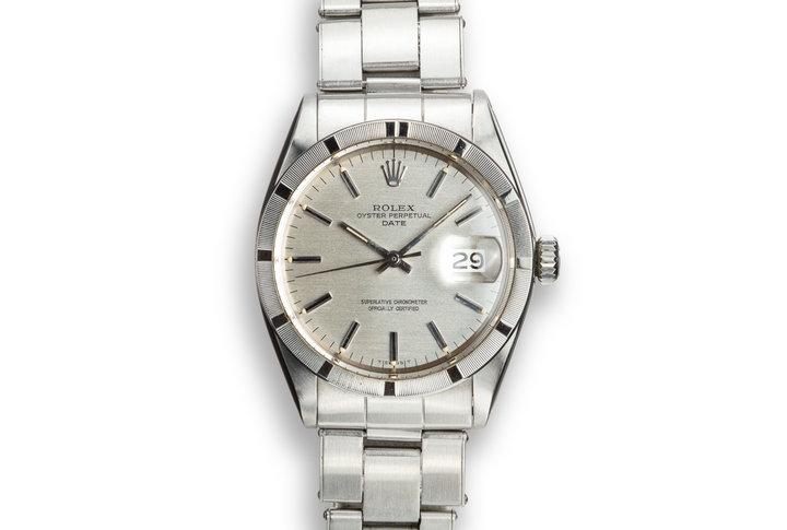 1970 Rolex Date 1501 Silver Dial photo