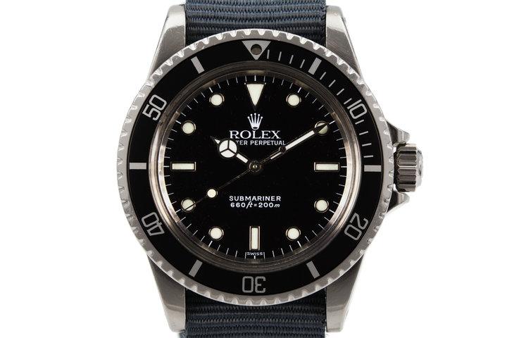 1984 Rolex Submariner 5513 photo